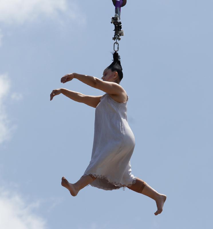 Gloria Rodrigues, acrobata portoghese
